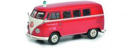 Schuco 450368800 VW T1 Bus Feuerwehr | Modellauto 1:43 online kaufen
