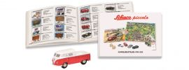 Schuco 450607200 Set Piccolo-Sammler-Katalog 1994-2015 mit VW T1 Doppelkabine | Modellauto 1:87 online kaufen