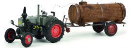 Schuco 450769400 Lanz Bulldog mit Güllefass | Landwirtschaftsmodell 1:32 online kaufen