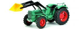 Schuco 450779900 Hanomag Robust 900 mit Frontlader | Traktor-Modell 1:32 online kaufen