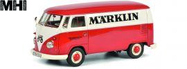 Schuco 450785400 VW T1b Kastenwagen märklin Edition | MHI | Automodell 1:32 online kaufen