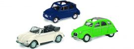 Schuco 452611000 3-er Set CABRIO-CLASSICS Automodelle 1:87 online kaufen