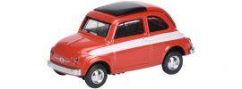 Schuco 452627200 Fiat 500 Rallye rot | Modellauto 1:87 online kaufen