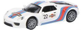 Schuco 452628200 Porsche 918 Spyder Martini | Modellauto 1:87 online kaufen