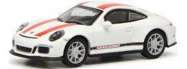 Schuco 452629900 Porsche 911 R (991) weiß/rot | Modellauto 1:87 online kaufen