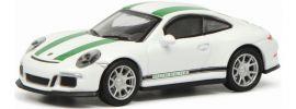 Schuco 452630000 Porsche 911 R (991) weiß/grün | Modellauto 1:87 online kaufen