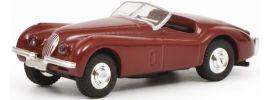 ausverkauft | Schuco 452632600 Jaguar XK 120 rot | Modellauto 1:87 online kaufen