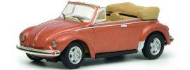 Schuco 452633600 VW Käfer Cabriolet kupferfarben | Automodell 1:87 online kaufen