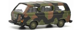 Schuco 452636600 VW T3 Bus flecktarn Bundeswehr | Modellauto 1:87 online kaufen