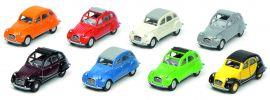 Schuco 452640100 Citroen 2CV Set | 8 Stück | Automodelle 1:87 online kaufen