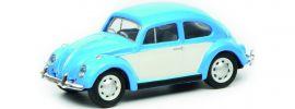Schuco 452640200 VW Käfer blau weiss | Automodell 1:87 online kaufen