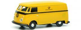 Schuco 452641100 VW T1c Kastenwagen Deutsche Bundespost | Automodell 1:87 online kaufen