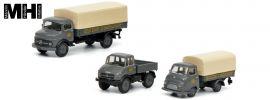 Schuco 452646200 3-tlg. Set Deutsche Bundesbahn | MHI Edition | LKW Modelle 1:87 online kaufen
