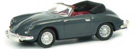 Schuco 452644200 Porsche 356 Cabrio grau | Automodell 1:87 online kaufen