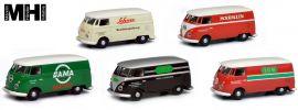 Schuco 452646300 5-tlg. Set VW T1c Kastenwagen | MHI Edition | Modellautos 1:87 online kaufen