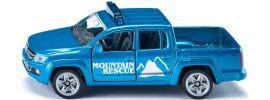 siku 1467 VW Amarok Pick-Up Bergrettung | Blaulichtmodell 1:55 online kaufen