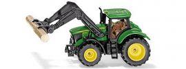 siku 1540 John Deere mit Baumstammgreifer | Traktormodell online kaufen