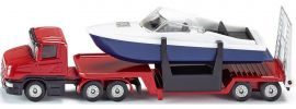 siku 1613 Tieflader mit Boot | LKW Modell online kaufen