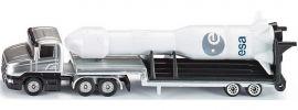 siku 1614 Tieflader mit Rakete | LKW Modell online kaufen