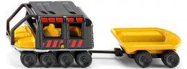 siku 1679 Argo Avenger mit Anhänger | Baufahrzeugmodell online kaufen