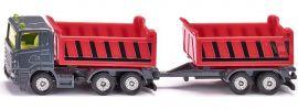 siku 1685 LKW mit Kippmulde und Kippanhänger | LKW Modell 1:87 online kaufen