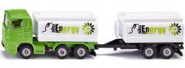 siku 1690 LKW mit Tankwagenaufbau und Anhänger | LKW Modell 1:87 online kaufen