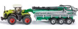 siku 1827 Claas Xerion mit Fasswagen | Traktormodell 1:87 online kaufen