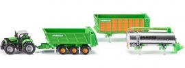 siku 1848 Deutz Agrotron X720 mit Joskin Anhänger-Set | Traktormodell 1:87 online kaufen