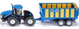 siku 1947 New Holland mit Silagewagen | Traktormodell 1:50 online kaufen