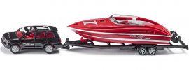 siku 2543 Audi Q7 mit Motorboot   Modellauto 1:55 online kaufen