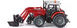 siku 3653 Massey Ferguson mit Frontladergabel | Traktormodell 1:32 online kaufen