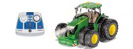 Siku 6736 John Deere 7290R mit Doppelreifen und Fernsteuerung | 1:32 | RC Traktor online kaufen