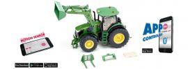 Siku 6792 John Deere 7310R mit Frontlader und Fernsteuerung | 1:32 | RC Traktor online kaufen