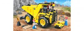 Sluban M38-B0806 Riesen-Kipplaster | Baufahrzeug Baukasten online kaufen