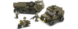 Sluban M38-B0307 Nachschubkonvoi   Militär Baukasten online kaufen