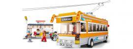 Sluban M38-B0332 Oberleitungsbus | Bus Baukasten online kaufen