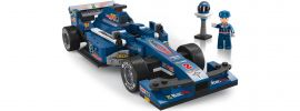 Sluban M38-B0353 Rennwagen blau | Auto Baukasten online kaufen