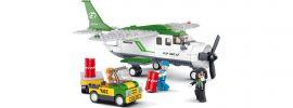Sluban M38-B0362 Propeller Frachtflugzeug | Flugzeug Baukasten online kaufen