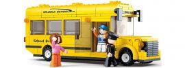 Sluban M38-B0507 Schulbus | Bus Baukasten online kaufen
