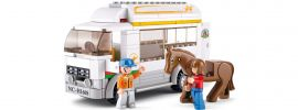 Sluban M38-B0559 Pferdetransporter | Auto Baukasten online kaufen