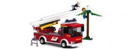Sluban M38-B0625 Löschfahrzeug mit Drehleiter | Feuerwehr Baukasten online kaufen