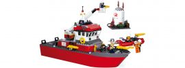 Sluban M38-B0630 Löschboot mit Öltank | Feuerwehr Baukasten online kaufen