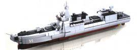 Sluban M38-B0700 Zerstörer II | 617 Teile | Schiff Baukasten online kaufen