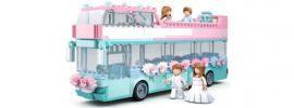 Sluban M38-B0769 Hochzeitsbus | Bus Baukasten online kaufen