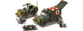 Sluban M38-B6000 Ambulanzkonvoi | Militär Baukasten online kaufen