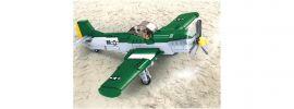 Sluban M38-B0857 WWII Amerikanisches Jagdflugzeug | Flugzeug Baukasten online kaufen