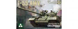 Takom 2042 T-55AMV Russian Medium Tank | Panzer Bausatz 1:35 online kaufen