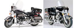 TAMIYA 16037 Harley-Davidson FLH Classic black Motorrad Bausatz 1:6 online kaufen