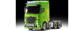 TAMIYA 23801 XB MB Actros 3363 Grün Full Option | RC LKW RTR 1:14 online kaufen