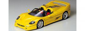 TAMIYA 24297 Ferrari F50 | gelb | Bausatz 1:24 online kaufen